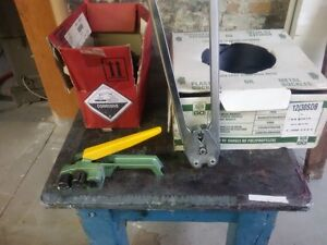 Strapping unit