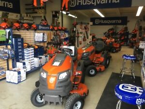 2018 Husqvarna Ride On Tractors - 0% 36 mo. available
