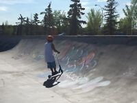 Scooter lessons needed at Callingwood Skatepark
