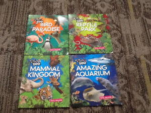 SCHOLASTIC BOOK LOT MY DAY AT THE ZOO