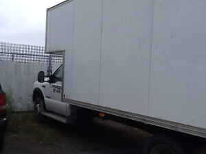 Ford F-550 Cube, BOITE 18 pieds + 7,3 turbo diesel  très propre