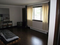 Furnished and equipped studio