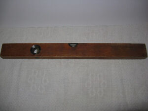 Vintage Wooden Rule Level by Stanley London Ontario image 3