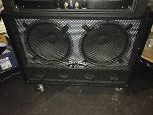 Genz Benz G-Flex 2x12 ported speaker cabinet w/nylon cover