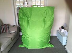 Big green bean bag for home & garden