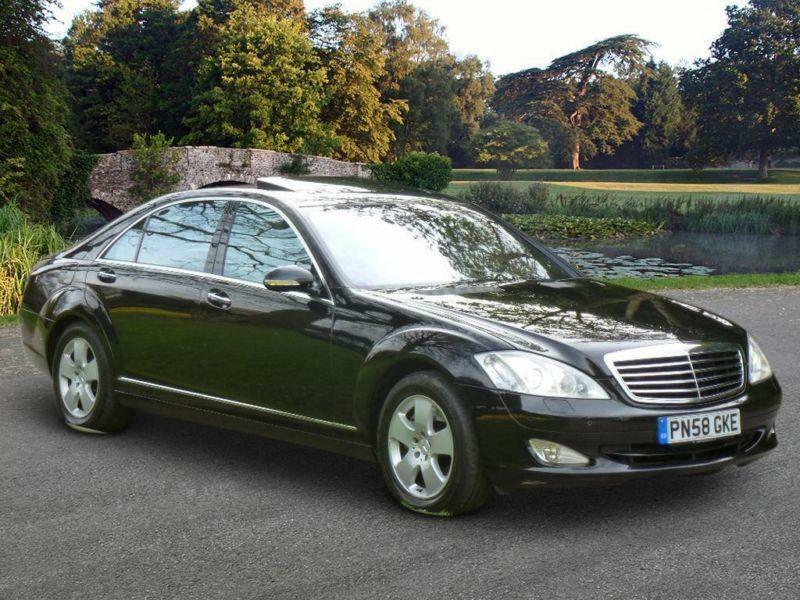 2008 mercedes benz s class 5 5 s500 limousine 7g tronic for Mercedes benz s500 2008