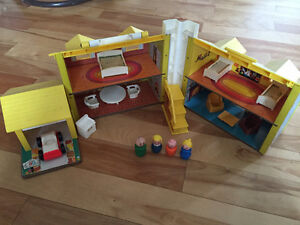 Vieux Fisher Price Little People Vintage