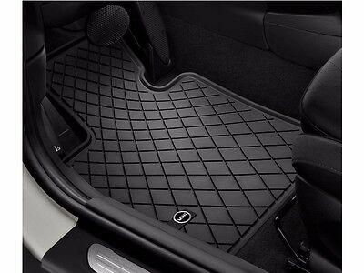 OEM Mini Cooper Clubman F54 Rubber Floor Mat Set Mini Logo Front Rear Trunk