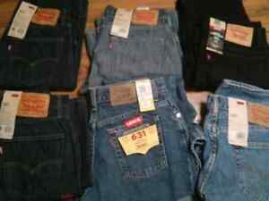 LEVIS Jeans Brand NEW -- Lot of 6