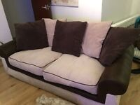 Two seater sofa for sale immaculate condition