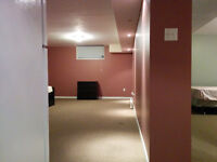 Wide open bright legal basement apartment