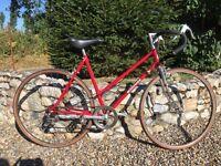 Nice vintage ladies road bike