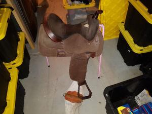 Horse tack and saddles