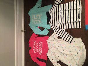 Gently used 3T girls clothing