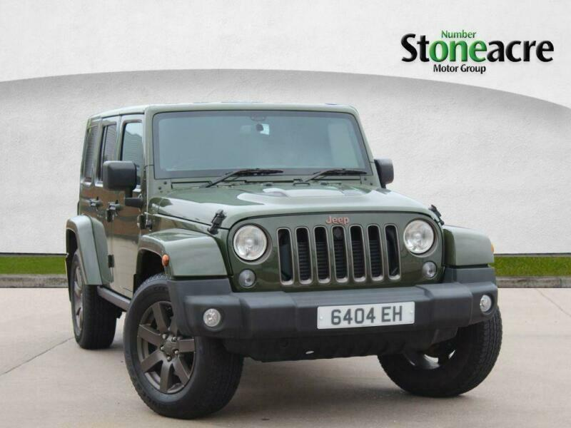 2016 Jeep Wrangler Diesel >> 2016 Jeep Wrangler 2 8 Crd 75th Anniversary Suv 4dr Diesel Auto 4wd 197 Bhp In Willenhall West Midlands Gumtree
