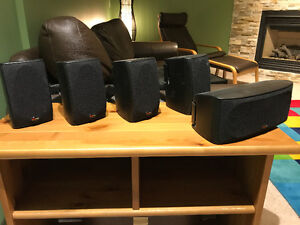 Polk Audio 5.1 Speaker System AND Yamaha 7.1 Channel Receiver