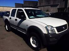 2003 HOLDEN RODEO DUEL CAB UTILITY, RWC & REGO Kippa-ring Redcliffe Area Preview