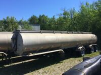 8000 gallon aluminum tanker 2 units