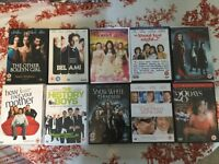 10 DVD Chick Flick Collection inc Red Riding Hood, Snow White & Bel Ami.