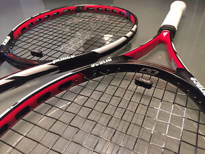 Prince Warrior 100 ESP Racquets (two racquets)