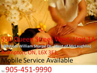 MaSsage $59.95/hr Brampton Open 7 DayS Insurance Eligible