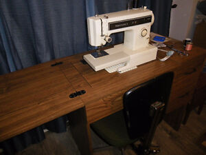 Kenmore Sewing Machine in Cabinet - Reduced price