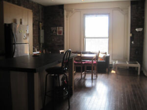 small room available in spacious apartment Feb 1st to July 1st
