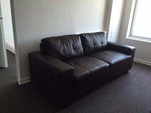 Comfy Leather Couch for Sale