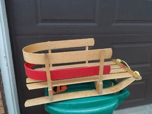 Child's Wooden Sleigh