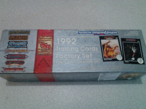 Dongeons Dragons Serie Complete 750 Cartes Factory Set