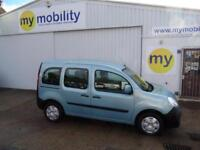 Renault Kangoo Automatic Wheelchair Scooter Accessible WAV Disability Car