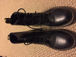 Men's Doc Marten black boots (worn only three times)