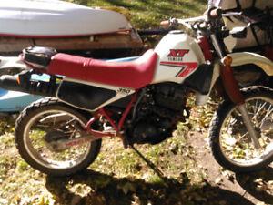 85 Yamaha xt350