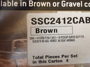 F150 and superduty buckets seat covers new