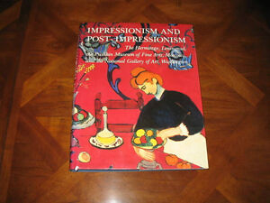Art Book: Impressionism & Post Impressionism (Coffee Table book)