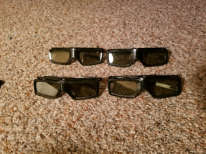Sony Active 3D Glasses - $40 for all