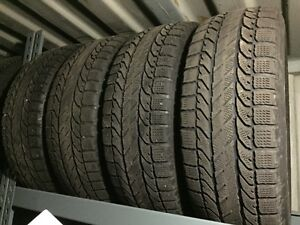 P205/60R16 BF Goodrich winter tire package with steel rims