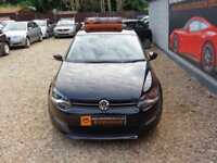 VOLKSWAGEN POLO 1.2 A-C MODA 60 5dr Black Manual Petrol, 2011