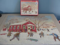 PUZZLE - 1000 Piece - The Olde Country School