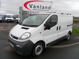 Vauxhall Vivaro 2900 Di SWB Ex BT