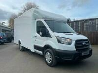 Transit Luton 350 Leader 2.0TDCi 130PS FWD L3 in White 0% HP Finance