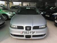 2003 Seat Leon1.8 20v Cupra - MOT Jan 18 - 6 Service Stamps - 2 New tyres