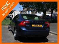 2011 Volvo S60 2.0 D3 Turbo Diesel SE 6 Speed Sunroof Sat Nav Bluetooth Full Lea