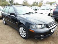 2001 VOLVO V40 S NOW BREAKING FOR PARTS