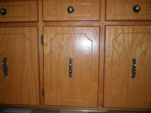 Oak Cupboard Doors and Oak Plywood