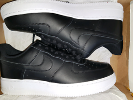 Size 7 Mens. Nike air force 1. Brand new in box. Black White.