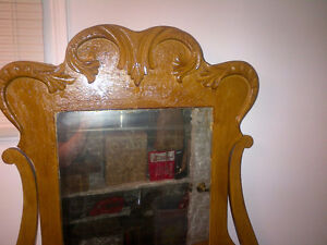 Antique Dresser, Head Board, Foot board built in 1898
