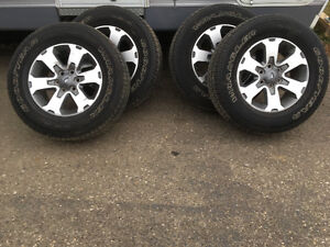 F150 FX4 Rims and Tires