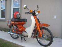 magnifique  moto yamaha 1972 ,75 cc un bijoux  état neuf a voir