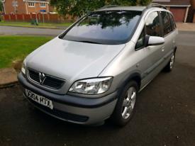 Vauxhall zafira 2004 1.6 petrol